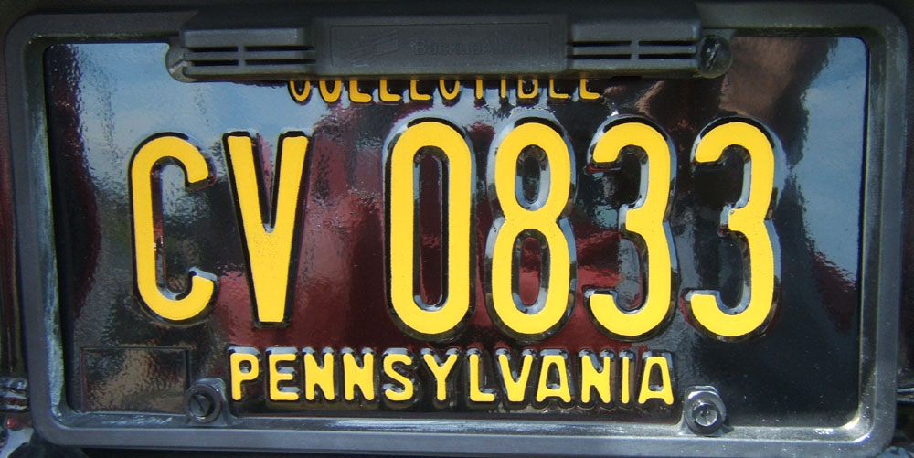 & TheSamba.com :: View topic - PA License Plate Whoas