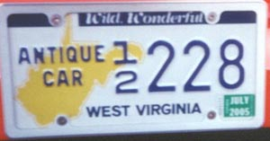 Antique Tags in Virginia at DMV.org: The DMV Made Simple