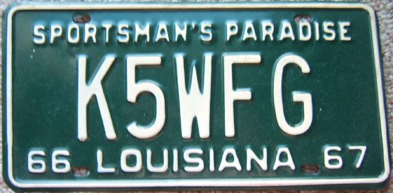 amateur license plates