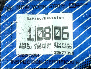 Top left: February 2006 expiration Safety only